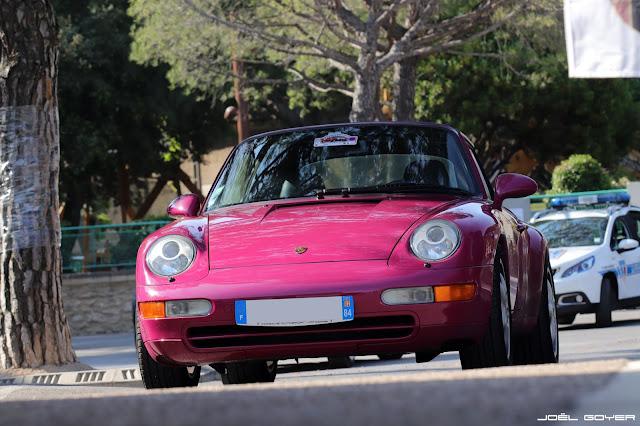 Porsche 993 Rouge Rubis