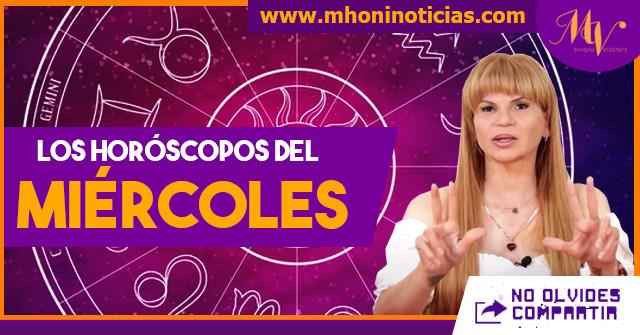 Los horóscopos del MIÉRCOLES 14 de JULIO del 2021 - Mhoni Vidente