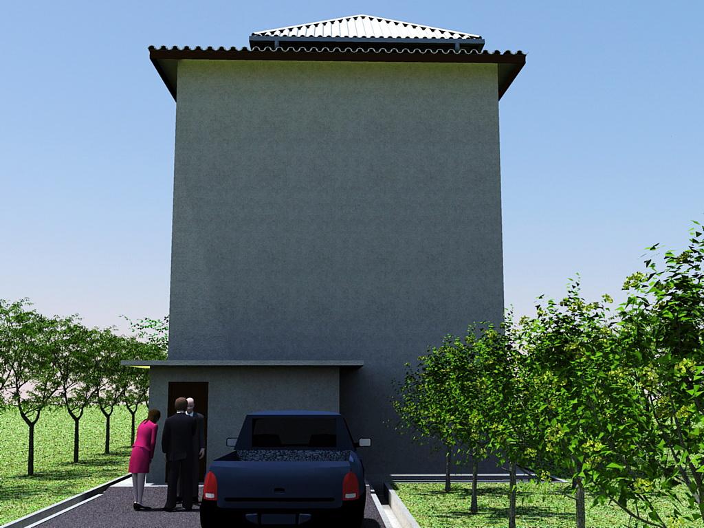 52 Desain Rumah Walet 2 Lantai Terbaik Parkiran Desain