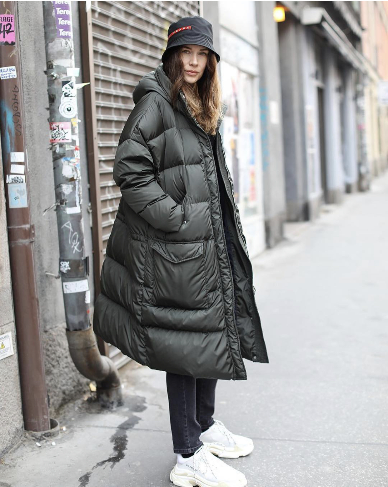 In Fashion | Winter Style Inspiration: Long Puffer Jacket