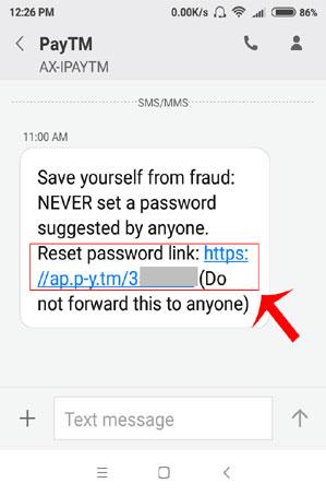 paytm password change kaise kare