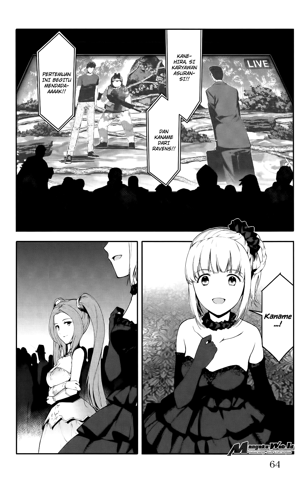 Darwin's Game Chapter 38-16