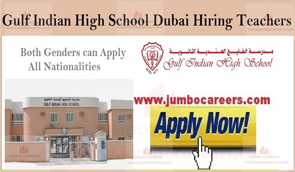Recent Teachers jobs in Dubai, Teaching job openings in Dubai,