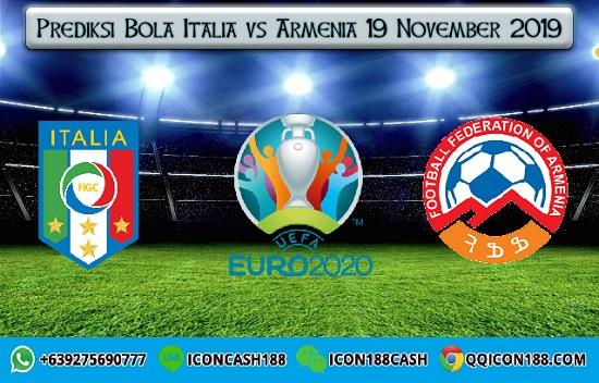 Prediksi Bola Italia vs Armenia 19 November 2019