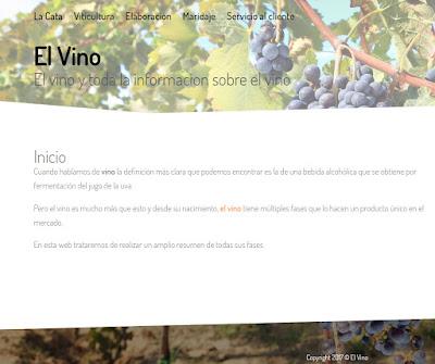 dos nuevas web sobre vino
