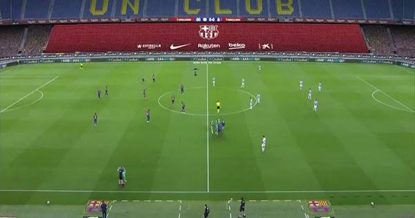 ملخص مباراة برشلونة وإسبانيول بث مباشر اونلاين 8-7-2020 الدوري الاسباني