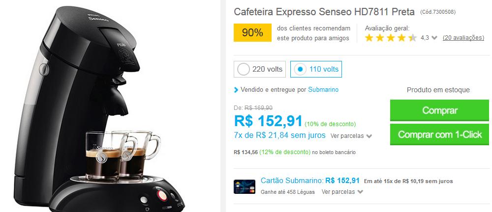 http://www.submarino.com.br/produto/7300508/cafeteira-expresso-senseo-hd7811-preta?loja=03&opn=EMAIL190316&franq=AFL-03-117316&AFL-03-117316