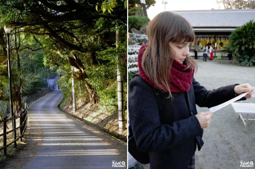 西公園と光雲神社、福岡