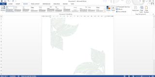 cara membuat watermark di word dengan gambar