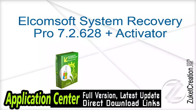 Elcomsoft System Recovery Pro 7.2.628 + Activator