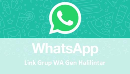 Kumpulan Link Grup WA Gen Halilintar Update Terbaru