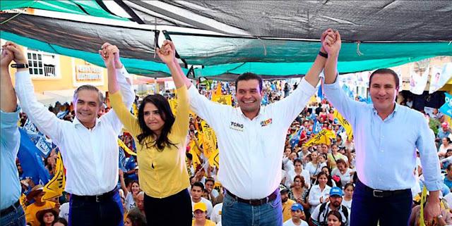 Mancera en alianza con PRD, PT, MC y hasta PAN contra Morena y AMLO