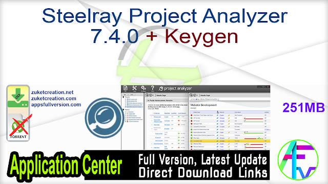 Steelray Project Analyzer 7.4.0 + Keygen