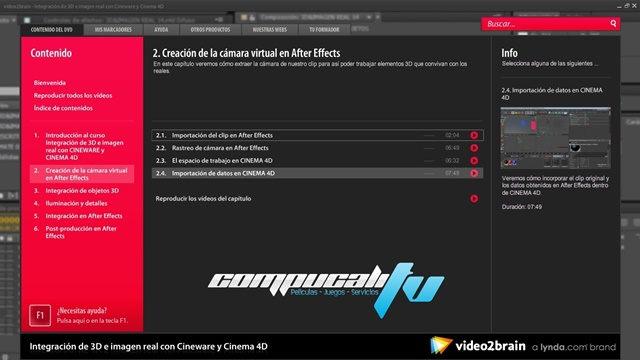 Curso Integración de 3D con Cineware y Cinema 4D