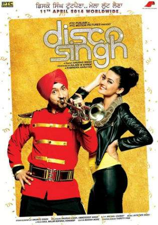 Disco Singh 2014 HDRip 400Mb Punjabi Movie 480p Watch Online Free Download bolly4u