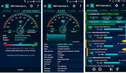 تحميل تطبيق WiFi Overview 360 Pro