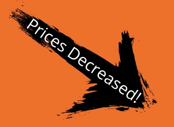 PRICES DECREASED