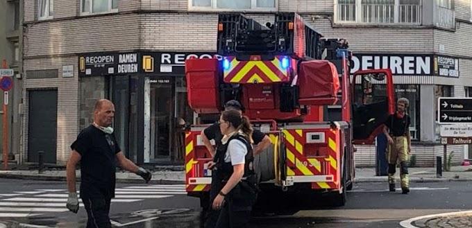 Man kritiek na woningbrand in Gent, Tolhuislaan even afgesloten