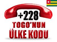 +228 Togo ülke telefon kodu