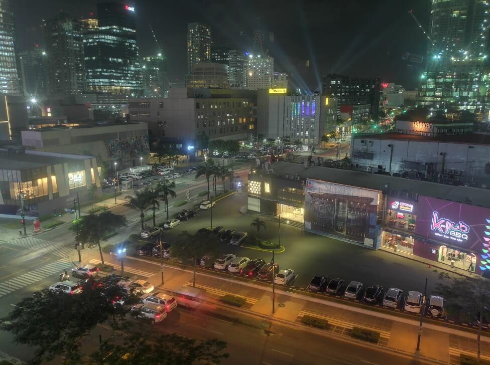 Huawei Y9 2019 Main Camera Sample - Night, Cityscape - Night Mode with Tripod