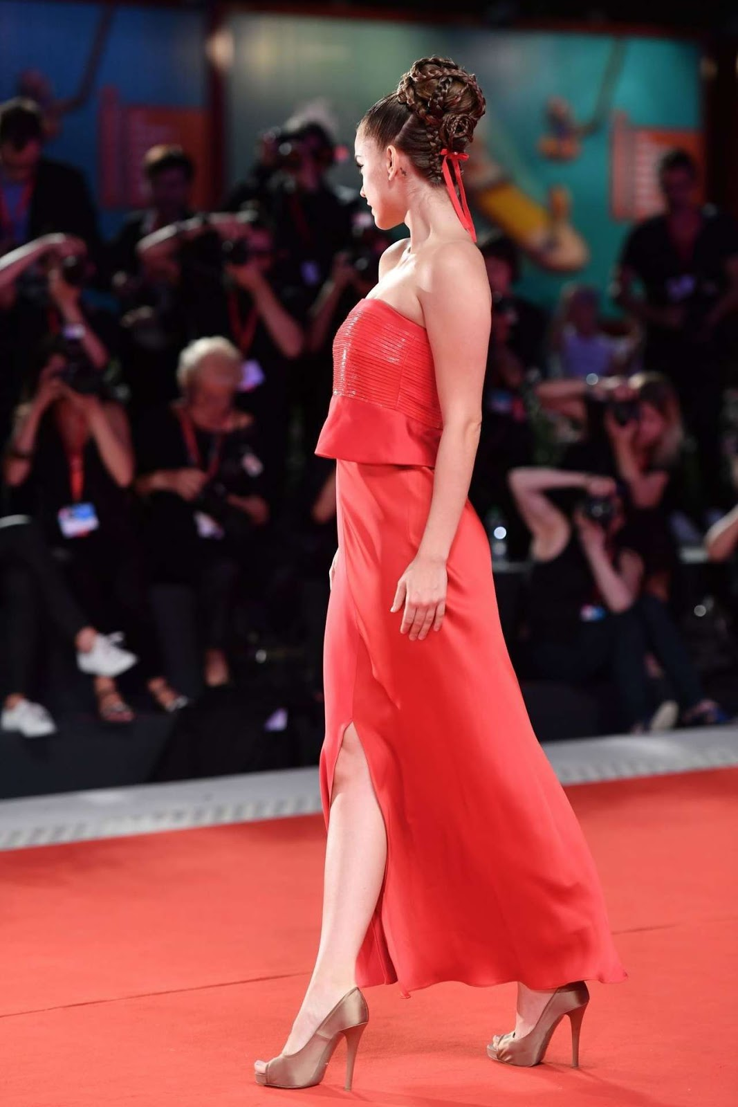 Barbara Palvin at the Screening of Seberg at 76th Venice Film Festival