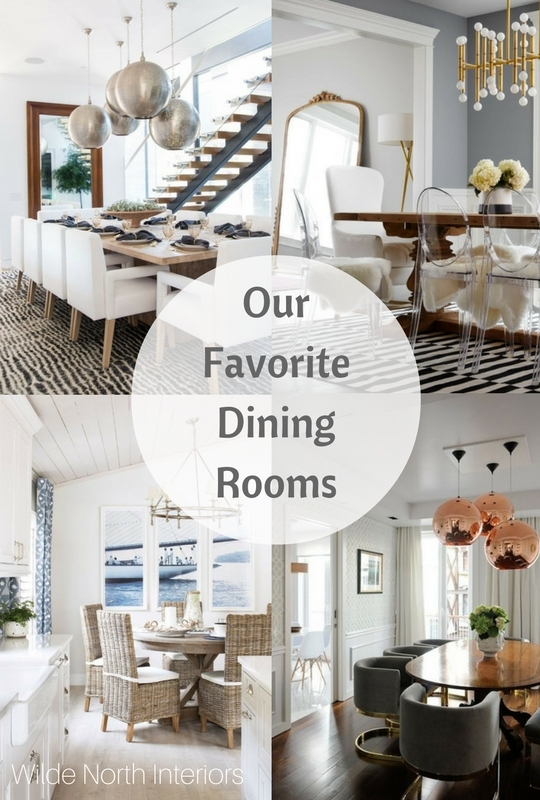 Our favorite dining rooms by Wilde North Interiors