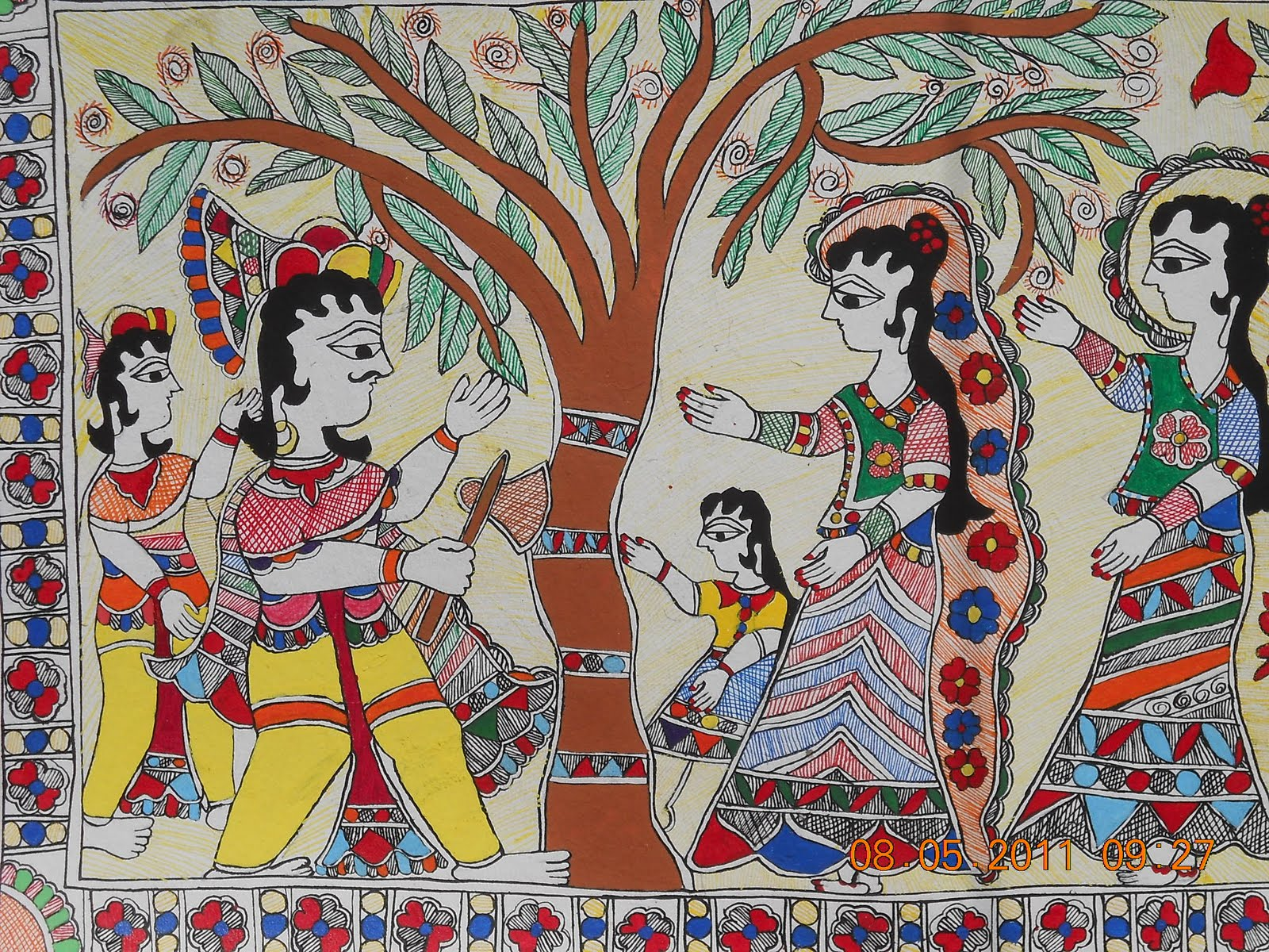 download madhubani painting wallpapers gallery