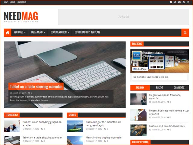 needmag-blogger-template-free-download