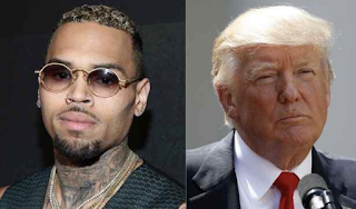 Chris Brown tears into President Trump's speech on police roughing up 'thugs'