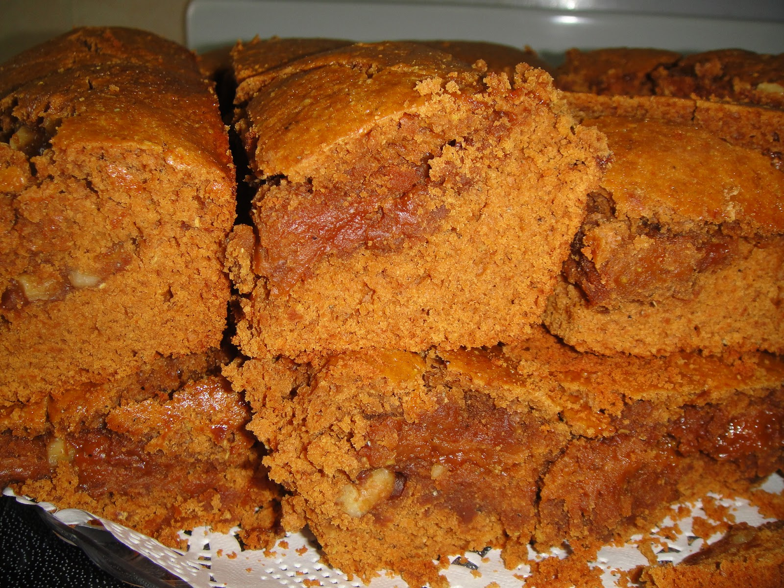 Date Molasses Cake Recipe