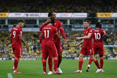 ملخص واهداف مباراة ليفربول ونورويتش سيتي (3-0) الدوري الانجليزي