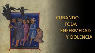 Evangelio según Mateo 9,32-38: Curando toda enfermedad y dolencia