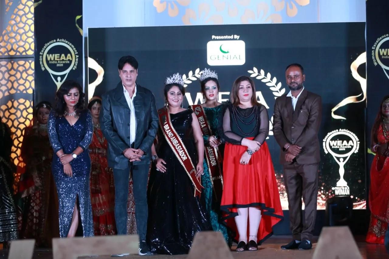 Mandakini-Chhabu-Patil-of-Nashik-became-the-brand-ambassador-for-the-National-Level-Award-Show-WEAA-India-Awards
