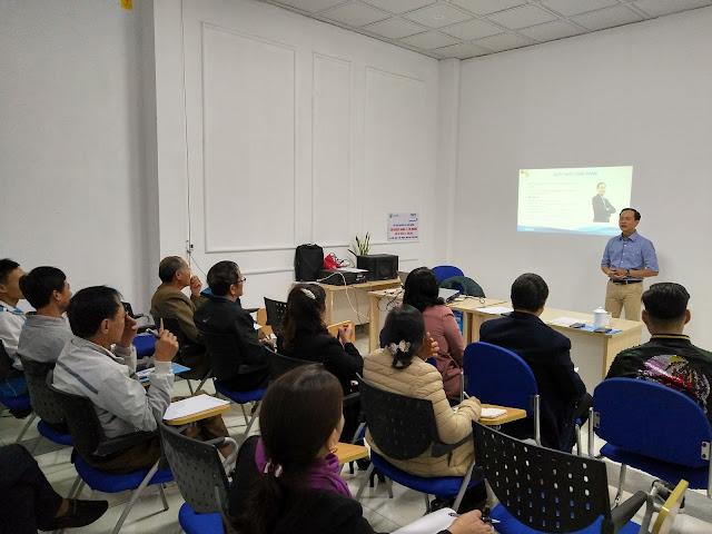 Diễn giả Nguyễn Quốc Chiến hướng dẫn cách xây dựng và phát triển hệ thống