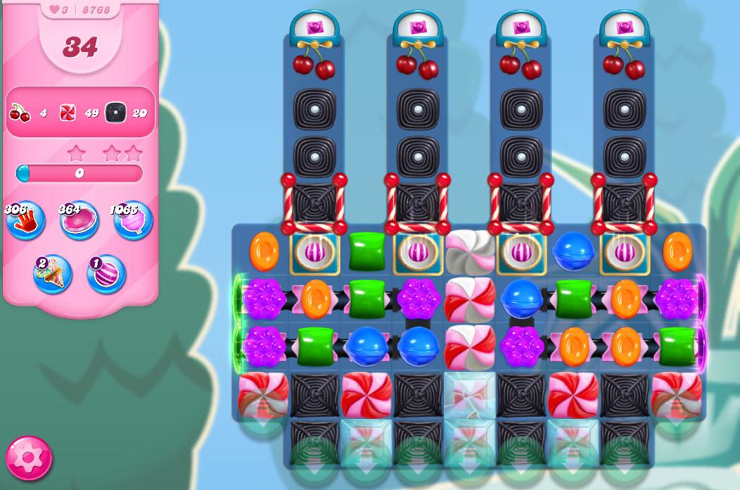 Candy Crush Saga level 8768