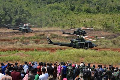 Latihan Antar Kecabangan Asah Kemampuan Tempur Prajurit TNI AD