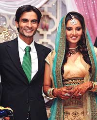 Sania Engagement With Childhood Friend Shohrab