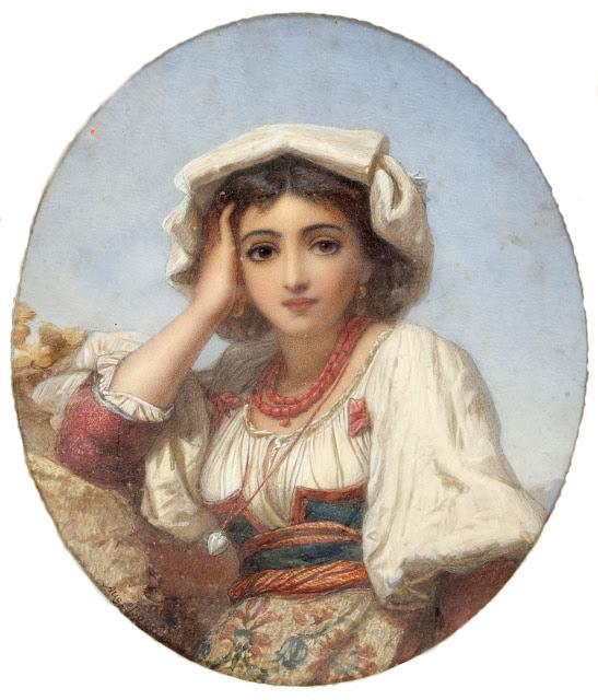 Augustus Jules Bouvier - Арабская девушка