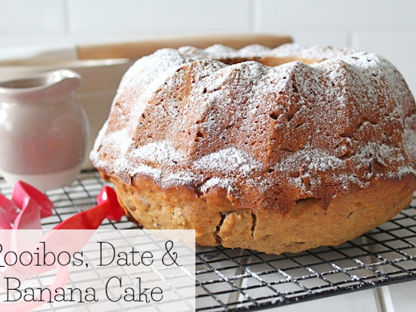 Rooibos, Date and Banana Cake