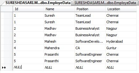 SQL Server Remove Duplicate Records (Rows) from a Table