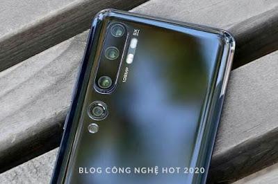 Camera Xiaomi CC9 Pro lên đến 108MP