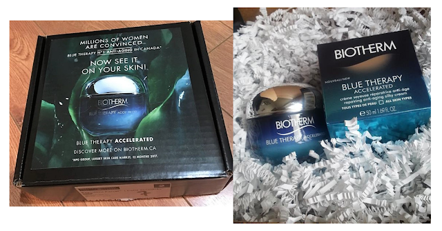 Biotherm Topbox Circle mission box in the mail