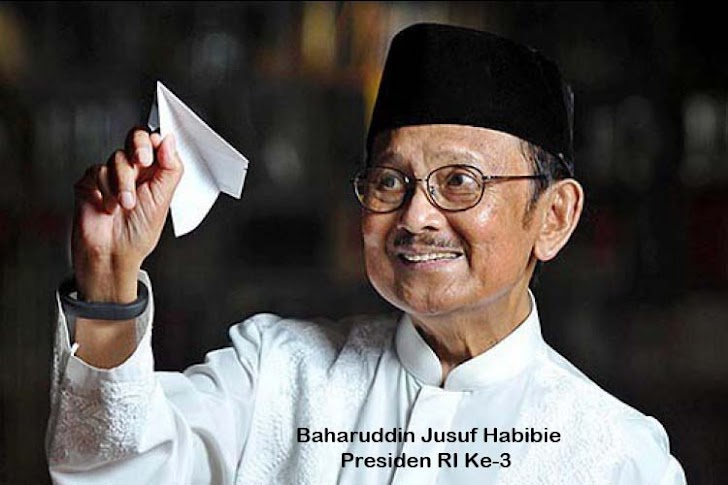 Presiden Republik Indonesia Ke-3, BJ Habibie Wafat Diusia 83 Tahun 2019