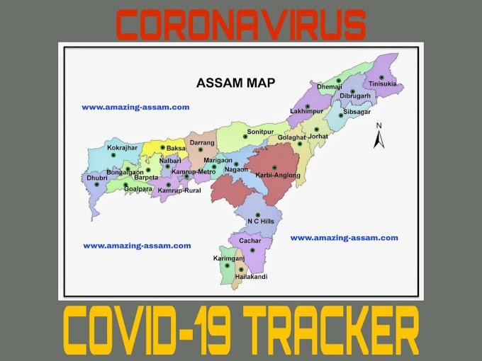 Assam Covid-19 Tracker Real Time