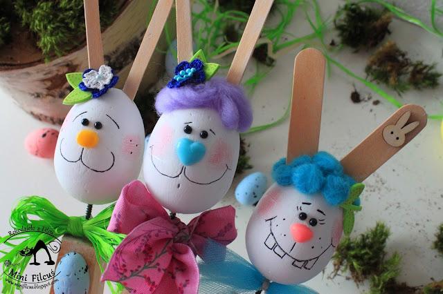 Wielkanocne Wesołe Króliczki