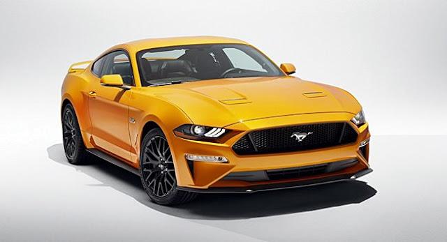 2018 Mustang EcoBoost Specs