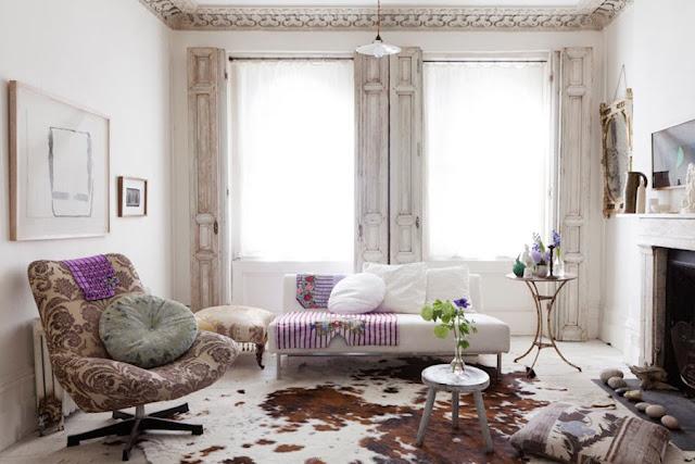 maison couleur lilas