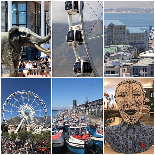 Cape Town For Beginners - Ten fantastic things to do in Cape Town. Robben Island. Vicotria and Alfred Waterfront