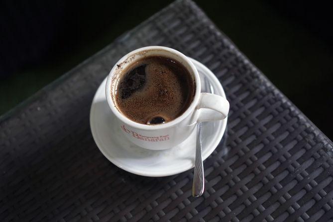 Segelas kopi tubruk ala Kopi Banaran