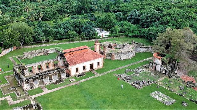 ingenio boca de nigua sugar mill ruin santo domingo dominican republic
